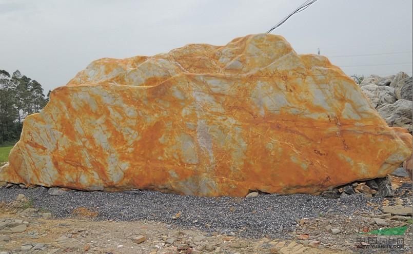 英德市良好园林奇石场专售英石黄蜡石 - 景观造型石